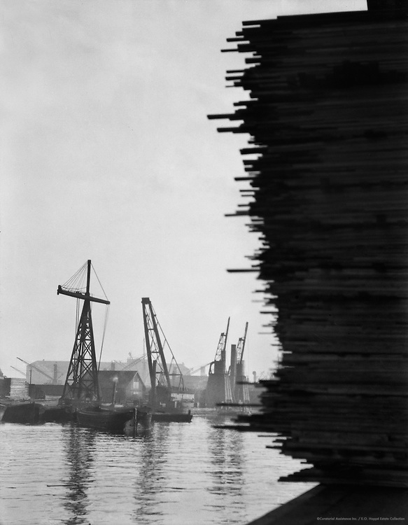 Docks, London, England, 1918