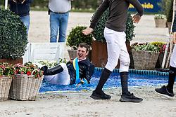 Prijsuitreiking, Verlooy Jos, BEL<br /> Belgisch Kampioenschap Jumping  <br /> Lanaken 2020<br /> © Hippo Foto - Dirk Caremans<br /> <br />  05/09/2020