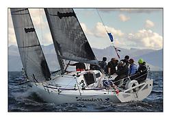 The Brewin Dolphin Scottish Series, Tarbert Loch Fyne..GBR1433R Salamander XX Corby 33 John Corson.