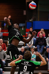 20161029 NED: Eredivisie, Vallei Volleybal Prins - Advisie SSS: Ede<br />Raygid Isenia of Advisie SSS <br />©2016-FotoHoogendoorn.nl / Pim Waslander