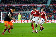 Middlesbrough forward Adama Traore (37)  has a run  during the The FA Cup match between Middlesbrough and Sheffield Wednesday at the Riverside Stadium, Middlesbrough, England on 8 January 2017. Photo by Simon Davies.