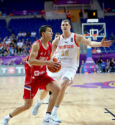 September 2, 2017 - Russia - Sirbia Eurobasket 2017 game at Fenerbahce Arena, Istanbul, Turkey, September 2nd, 2017 (Credit Image: © Depo Photos via ZUMA Wire)