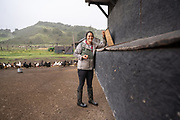 Cassidy Alexandrou, co-owner of Motley Crew Ranch in Lompoc, CA