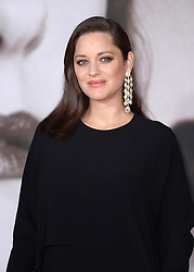 Marion Cotillard attending the UK premiere of Allied, held at the Odeon Cinema in Leicester Square, London.