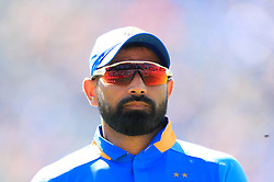 India's Mohammed Shami during the ICC Cricket World Cup group stage match at Emirates Old Trafford, Manchester.