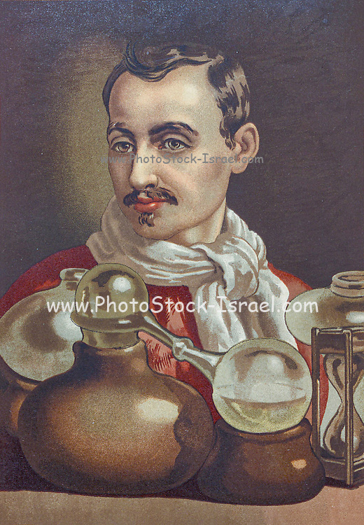 """Jan Baptist van Helmont (12 January 1580 – 30 December 1644) was a chemist, physiologist, and physician from the Spanish Netherlands. He worked during the years just after Paracelsus and the rise of iatrochemistry, and is sometimes considered to be """"the founder of pneumatic chemistry"""". Van Helmont is remembered today largely for his ideas on spontaneous generation, his 5-year willow tree experiment, and his introduction of the word """"gas"""" (from the Greek word chaos) into the vocabulary of science. From the book La ciencia y sus hombres : vidas de los sabios ilustres desde la antigüedad hasta el siglo XIX T. 2  [Science and its men: lives of the illustrious sages from antiquity to the 19th century Vol 2] By by Figuier, Louis, (1819-1894); Casabó y Pagés, Pelegrín, n. 1831 Published in Barcelona by D. Jaime Seix, editor , 1879 (Imprenta de Baseda y Giró)"""