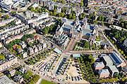 Nederland, Noord-Holland, Amsterdam, 27-09-2015; Museumkwartier, Museumplein,  Stadhouderskade met Rijksmuseum.<br /> Museum quarter with Rijksmuseum.<br /> luchtfoto (toeslag op standard tarieven);<br /> aerial photo (additional fee required);<br /> copyright foto/photo Siebe Swart