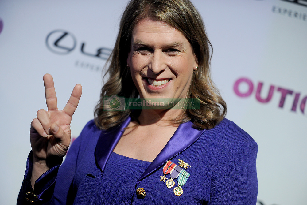 Kristin Beck arriving for the 22nd Annual OUT100 Celebration Gala held at Altman Building in New York City, NY, USA, November 9, 2017. Photo by Dennis Van Tine/ABACAPRESS.COM