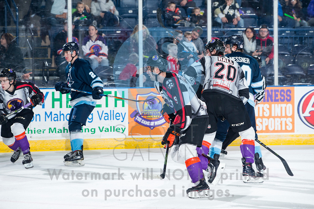 The Youngstown Phantoms lose 4-1 to the Madison Capitols at the Covelli Centre on Dec. 29, 2017.  <br /> <br /> Star wars night.