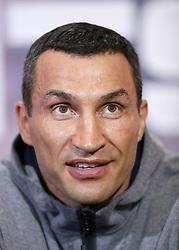 File photo dated 27-04-2017 of Wladimir Klitschko.