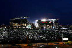 A general view from outside of Lincoln Financial Field during the Philadelphia Eagles NFL Flight Night at Lincoln Financial Field in Philadelphia, Pennsylvania on Sunday August 2nd 2009. (Photo by Brian Garfinkel)