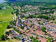 Nederland, Utrecht, Gemeente Rhenen, 27-05-2020; Rhenen met in het centrum de Cunerakerk.<br /> Rhenen with the Cunerakerk in the center<br /> luchtfoto (toeslag op standaard tarieven);<br /> aerial photo (additional fee required)<br /> copyright © 2020 foto/photo Siebe Swart