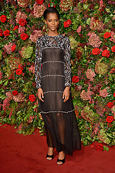 © Licensed to London News Pictures. 18/11/2018. London, UK. Letitia Wright attends the 64th Evening Standard Theatre Awards held at the Theatre Royal, Dury Lane. Photo credit: Ray Tang/LNP