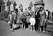 20/08/1967<br /> 08/20/1967<br /> 20 August 1967<br /> Unveiling of Memorial to Thomas Ashe, Peadar Kearney and Piaras Béaslaí at Glasnevin Cemetery, Dublin.