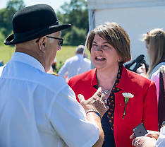 DUP Leader Arlene Foster at Orange walk, Cowdenbeath, 30 June 2018