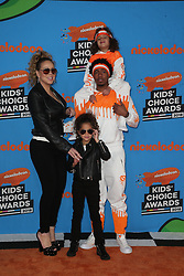 INGLEWOOD, CA - MARCH 24: Mel B. attends Nickelodeon's 2018 Kids' Choice Awards at The Forum on March 24, 2018 in Inglewood, California. Credit: Faye Sadou / MediaPunch. 24 Mar 2018 Pictured: Mariah Carey and Nick Cannon. Photo credit: FS/MPI/Capital Pictures / MEGA TheMegaAgency.com +1 888 505 6342