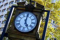 Clock outside Hotel Saskatchewan, Victoria Avenue Regina