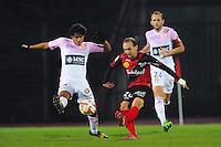 Thibault GIRESSE  - 30.11.2014 - Evian Thonon / Guingamp - 15eme journee de Ligue 1<br /> Photo : Jean Paul Thomas / Icon Sport