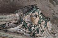 Terme del Corallo or Acque della salute. A frieze in the ballroom