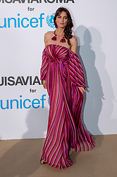 Catrinel Marlon arriving at a photocall for the Unicef Summer Gala Presented by Luisaviaroma at Villa Violina on August 10, 2018 in Porto Cervo, Italy. Photo by Alessandro Tocco/ABACAPRESS.COM