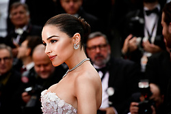 """""""Sibyl""""Red Carpet - The 72nd Annual Cannes Film Festival. 24 May 2019 Pictured: Olivia Culpo. Photo credit: Daniele Cifalà / MEGA TheMegaAgency.com +1 888 505 6342"""