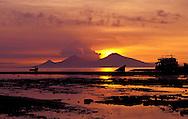 A walindi wonderous sunrise. Papua New Guinea.
