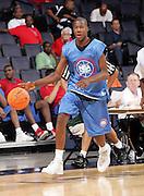 G/F Tony Mitchell (Swainsboro, GA / Swainsboro) moves the ball during the NBA Top 100 Camp held Friday June 22, 2007 at the John Paul Jones arena in Charlottesville, Va. (Photo/Andrew Shurtleff)