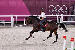 Schou Andreas, DEN, Darc De Lux, 328<br /> Olympic Games Tokyo 2021<br /> © Hippo Foto - Dirk Caremans<br /> 01/08/2021