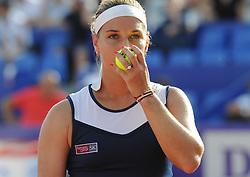 May 26, 2018 - France - Internationaux de tennis de Strasbourg - Dominica Cibulkova Slovaquie (Credit Image: © Panoramic via ZUMA Press)