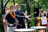 Willem Alexander en Maxima op provinciebezoek in Groningen en Drente