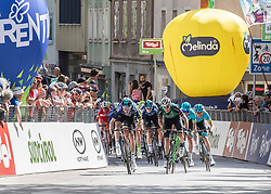 22.04.2019, Kufstein, AUT, Tour of the Alps, 1. Etappe, Kufstein - Kufstein, 144km, im Bild // f.l. Tao Geoghegan Hart (GBR, Team Sky), Alex Aranburu (ESP, Caja Rural - Seguros RGA) during the 1st Stage of the Tour of the Alps Cyling Race from Kufstein to Kufstein (144km) in in Kufstein, Austria on 2019/04/22. EXPA Pictures © 2019, PhotoCredit: EXPA/ Reinhard Eisenbauer