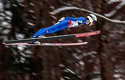 18.01.2018, Heini Klopfer Skiflugschanze, Oberstdorf, GER, FIS Skiflug Weltmeisterschaft, Qualifikation, im Bild Clemens Aigner (AUT) // Clemens Aigner of Austria during the Qualification of the FIS Ski Flying World Championships at the Heini-Klopfer Skiflying Hill in Oberstdorf, Germany on 2018/01/187. EXPA Pictures © 2018, PhotoCredit: EXPA/ JFK