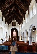 Village parish church Heveningham, Suffolk, England, UK