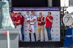 Deusser Daniel, GER, Tobago Z<br /> European Championship Jumping<br /> Rotterdam 2019<br /> © Hippo Foto - Dirk Caremans