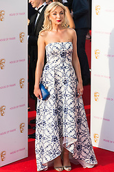 © Licensed to London News Pictures. 08/05/2016. London, UK. HELEN GEORGE attends the BAFTA Television Awards 2016. Photo credit: Ray Tang/LNP