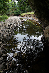 UK ENGLAND WALES LLANERFYL 1JUL15 - General view of tributary steam to the Banwy river near Llanerfyl, Wales, in the river Severn catchment area.<br /> <br /> jre/Photo by Jiri Rezac / WWF UK<br /> <br /> © Jiri Rezac 2015