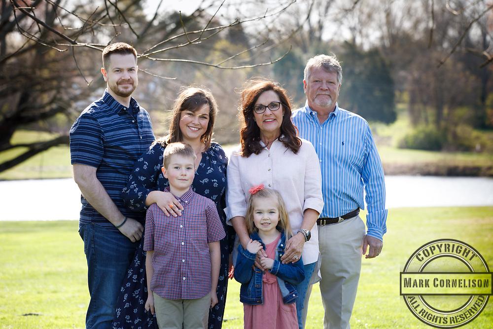 Mitch McConnell visits the University of Jake Stone family  on April 5, 2021. Photo by Mark Cornelison   UKphoto