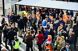 Exeter Chiefs fans arrive at Sandy Park through the turnstiles  - Mandatory by-line: Dougie Allward/JMP - 08/12/2018 - RUGBY - Sandy Park Stadium - Exeter, England - Exeter Chiefs v Gloucester Rugby - European Rugby Champions Cup