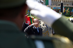 FILES - Algerian President Abdelaziz Bouteflika and Deputy Minister for National Defense and Chief of Staff of the People's National Army (ANP), Ahmed Gaid Salah attend an event in Algiers, Algeria, 27 June 2012 (issued 26 March 2019). Official Algerian media reports state Salah on 26 March called for the implementation of Article 102 of the Constitution to end the current political crisis in the county, which allows the Constitutional Council to declare the position of president vacant if the leader is unfit to rule. Protests continue in Algeria despite Algeria's president announcement on 11 March that he will not run for a fifth Presidential term and postponement of presidential elections previously scheduled for 18 April 2019 until further notice. Photo by Kadri Mohamed/Imagespic/ABACAPRESS.COM
