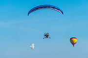 Hang Gliding at Temecula Valley Balloon & Wine Festival
