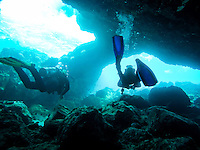Maui Beach Vacation 2015 - Scuba Diving the Five Caves dive on the shores of Maui near Kihei<br /> <br /> ©2015, Sean Phillips<br /> http://www.RiverwoodPhotography.com