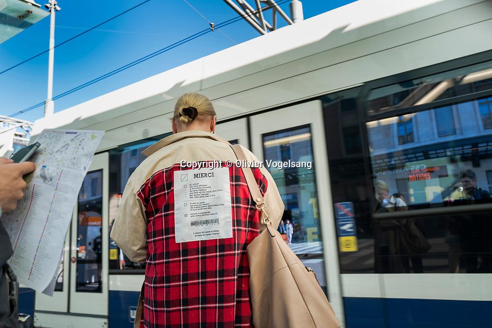 Genève, 23 mars 2019. Workshop Reportage que j'ai eu le plasir d'animer avec la Leica Akademie autour de la gare Cornavin. © Olivier Vogelsang