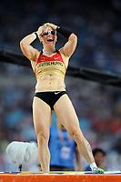 ATHLETICS - IAAF WORLD CHAMPIONSHIPS 2011 - DAEGU (KOR) - DAY 4 - 30/08/2011 - WOMEN POLE VAULT FINAL - MARTINA STRUTZ (GER) / 2ND - PHOTO : FRANCK FAUGERE / KMSP / DPPI