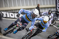 #383 (VERBINNEN Elias) BEL at Round 2 of the 2019 UCI BMX Supercross World Cup in Manchester, Great Britain