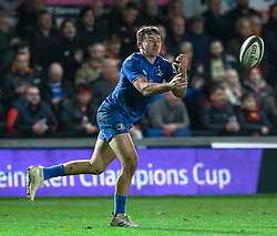 Hugo Keenan of Leinster<br /> <br /> Photographer Simon King/Replay Images<br /> <br /> Guinness PRO14 Round 10 - Dragons v Leinster - Saturday 1st December 2018 - Rodney Parade - Newport<br /> <br /> World Copyright © Replay Images . All rights reserved. info@replayimages.co.uk - http://replayimages.co.uk