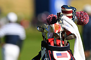 Illustration of USA golf bag during the practice round of Ryder Cup 2018, at Golf National in Saint-Quentin-en-Yvelines, France, September 26, 2018 - Photo Philippe Millereau / KMSP / ProSportsImages / DPPI