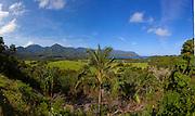 Hanalei Valley overlook, Kauai, Hawaii