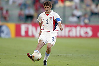 FOTBALL - CONFEDERATIONS CUP 2003 - GROUP B - TYRKIA v USA - 030619 - FRANKIE HEJDUK (USA) - PHOTO STEPHANE MANTEY / DIGITALSPORT