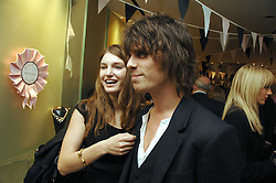 BEN GRIMES and JACKSON SCOTT at a party to launch jeweller Boodles new store at 178 New Bond Street, London W1 on 26th September 2007.<br /><br />NON EXCLUSIVE - WORLD RIGHTS
