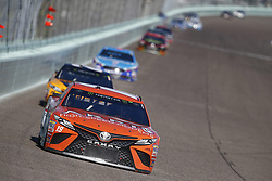 November 19, 2017 - Homestead, Florida, United States of America - November 19, 2017 - Homestead, Florida, USA: Daniel Suarez (19) battles for position during the Ford EcoBoost 400 at Homestead-Miami Speedway in Homestead, Florida. (Credit Image: © Justin R. Noe Asp Inc/ASP via ZUMA Wire)